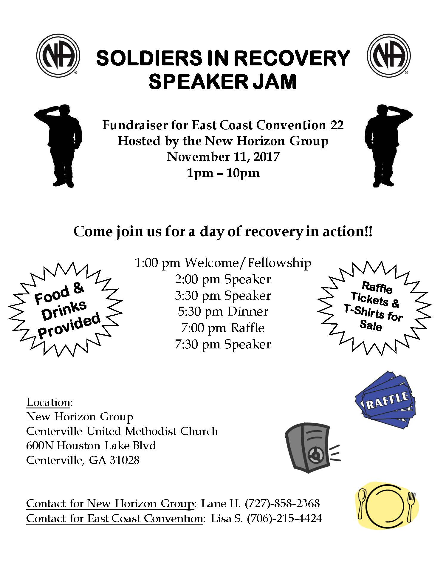 SOLDIERS IN RECOVERY FLYER